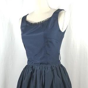 VERO MODA Blue Puff Dress. Sz S/M